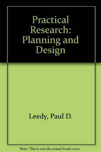 9780023692208: Practical Research: Planning and Design