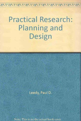 9780023692406: Practical Research: Planning and Design