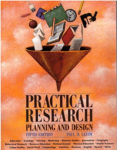 9780023692420: Practical Research, Planning &Design - 5th edition