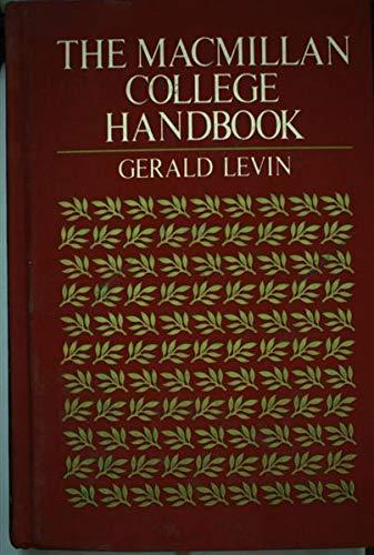 9780023702303: The Macmillan college handbook