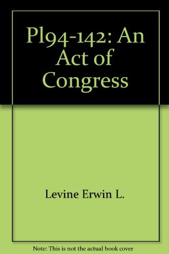 9780023702709: Pl94-142: An Act of Congress