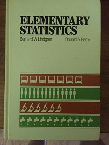 9780023707902: Elementary Statistics