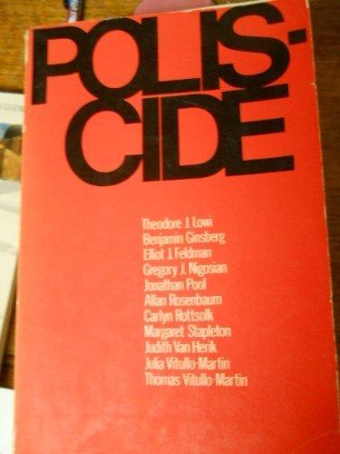 Poliscide: Lowi, Theodore J