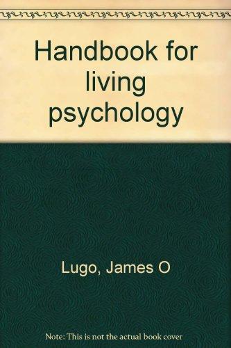 9780023722400: Handbook for living psychology