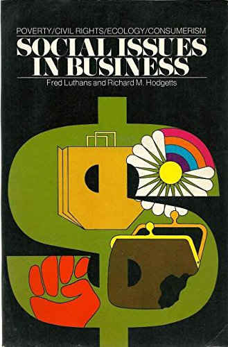 9780023729409: Social Issues in Business