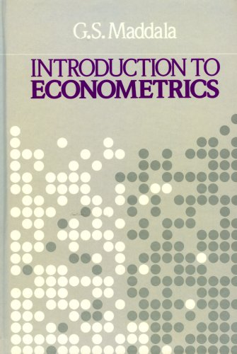 9780023745300: Introduction to Econometrics