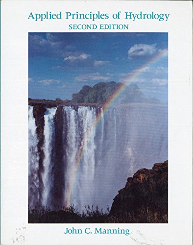 9780023757105: Applied Principles of Hydrology (Macmillan Earth Science Series)