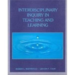 9780023765025: Interdisciplinary Inquiry in Teaching and Learning
