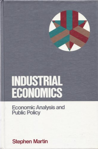 9780023767807: Industrial Economics