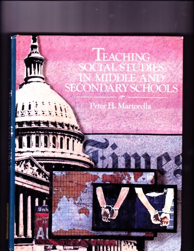 9780023767913: Teaching Social Studies in Middle and Secondary Schools