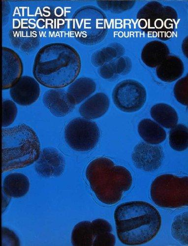 9780023771408: Atlas of Descriptive Embryology