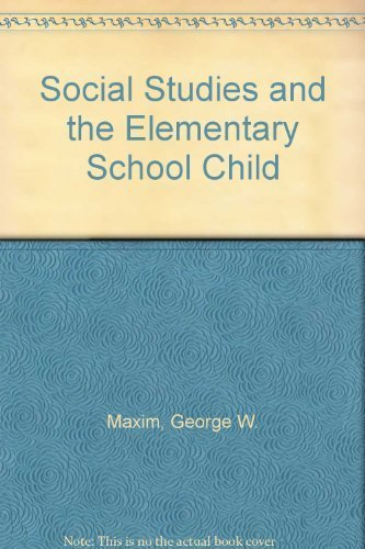 9780023779404: Social Studies and the Elementary School Child