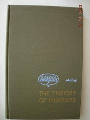 9780023787003: Theory of Numbers (Allendoerfer Advanced)