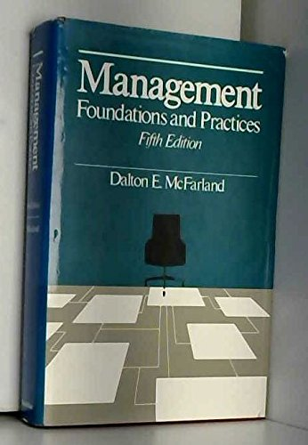 9780023788901: Management Foundations and Practices