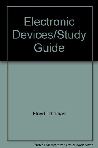 9780023792960: Electronic Devices/Study Guide
