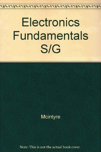 9780023792977: Electronics Fundamentals S/G