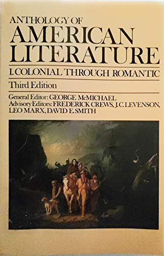 9780023793202: Anthology of American Literature