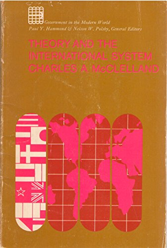 9780023794100: Theory and the International System