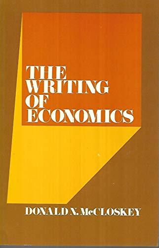 9780023795206: Writing of Economics