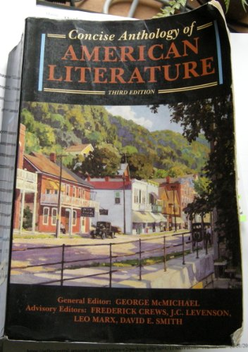 9780023795619: Concise Anthology of American Literature (With Supplement)