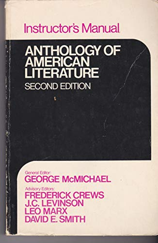 9780023795909: Anthology of American Literature Second Edition