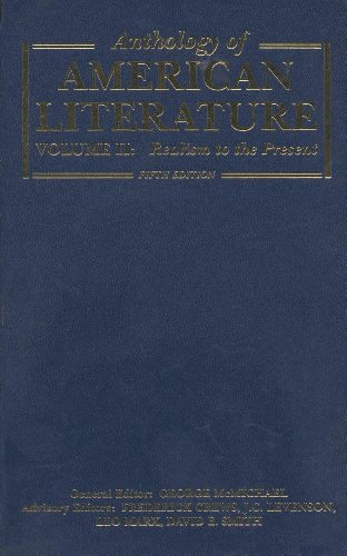 9780023796067: Anthology American Literature
