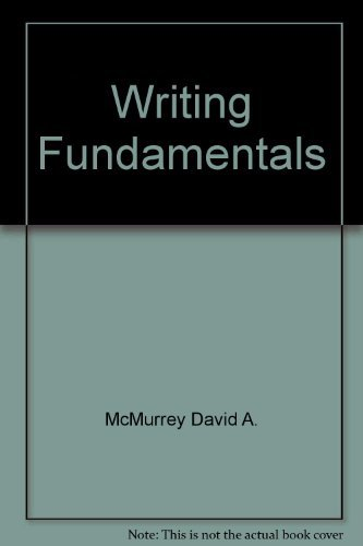9780023796708: Writing fundamentals
