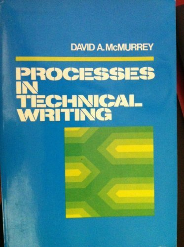 9780023797002: Processes in Technical Writing