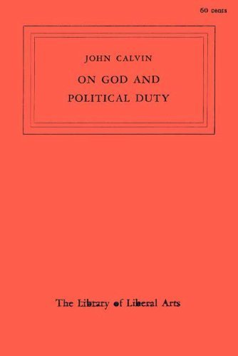 9780023797606: On God and Political Duty (Library of Liberal Arts)