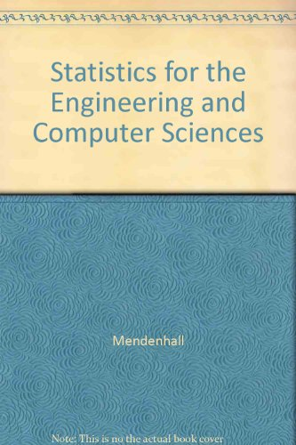 9780023804502: Statistics Engineering Science