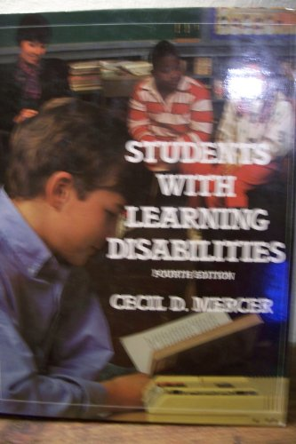 9780023805400: Students with Learning Disabilities