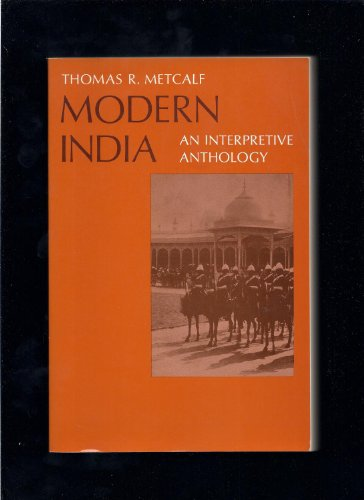 9780023807008: Modern India: An Interpretive Anthology