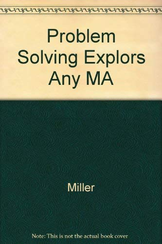 9780023813023: Problem Solving Explorations