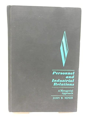 9780023817502: Personnel and Industrial Relations