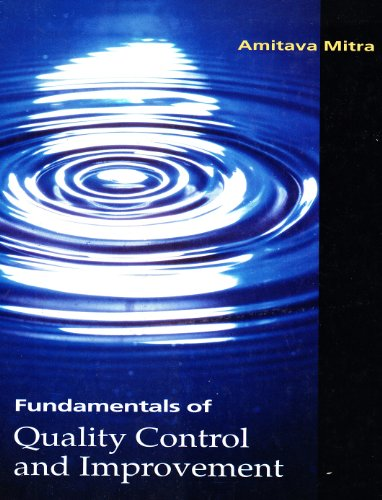 9780023817915: Fundamentals of Quality Control and Improvement