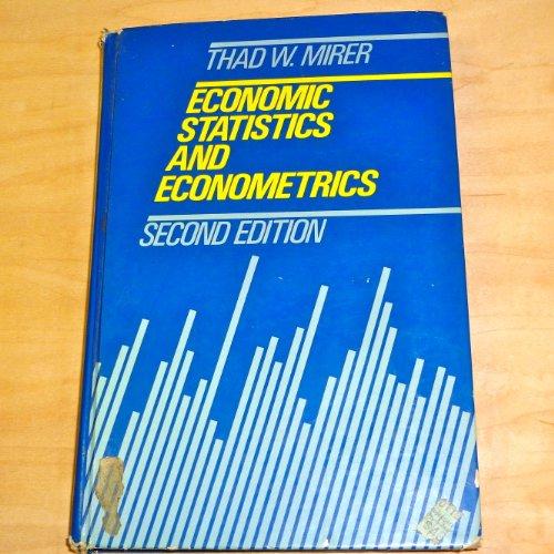 9780023818219: Economic Statistics and Econometrics