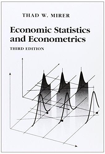 9780023818318: Economic Statistics and Econometrics (3rd Edition)