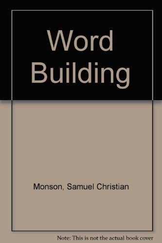 9780023822100: Word Building