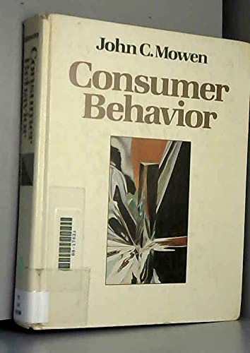 9780023845901: Consumer Behavior
