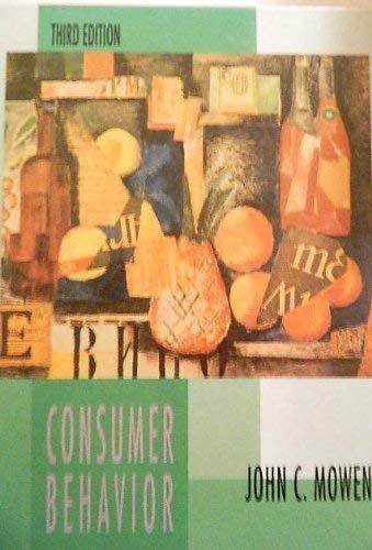 9780023845918: Consumer Behavior (The Macmillan Series in Marketing)