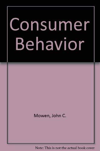 9780023846014: Consumer Behavior