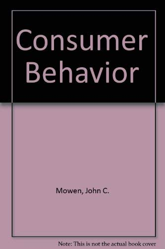 9780023846014: Consumer Behavior