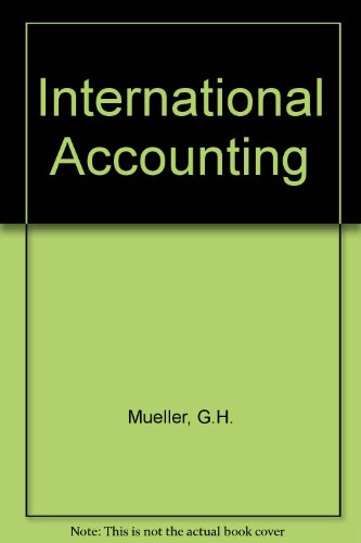 9780023846106: International Accounting