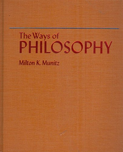 9780023848506: Ways of Philosophy