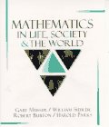 9780023854606: Mathematics in Life, Society, and the World