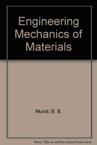 9780023857508: Engineering Mechanics of Materials