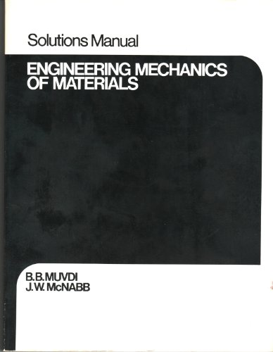9780023857607: Engineering mechanics of materials