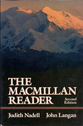9780023858710: The Macmillan Reader