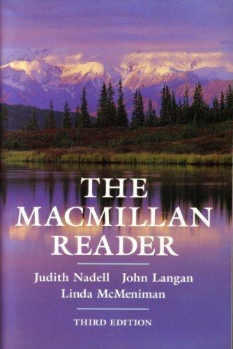 The Macmillan Reader: Judith Nadell, John