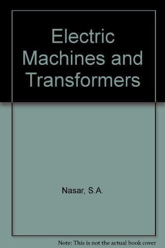 9780023859502: Electric Machines and Transformers